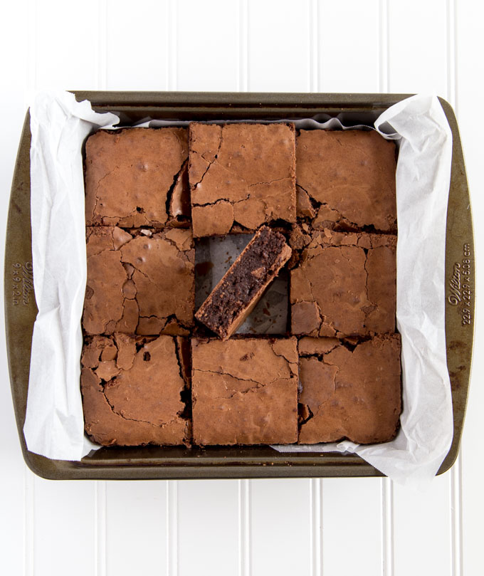 extra thick, rich, fudgy, gluten free, brownies, crispy top, chewy center