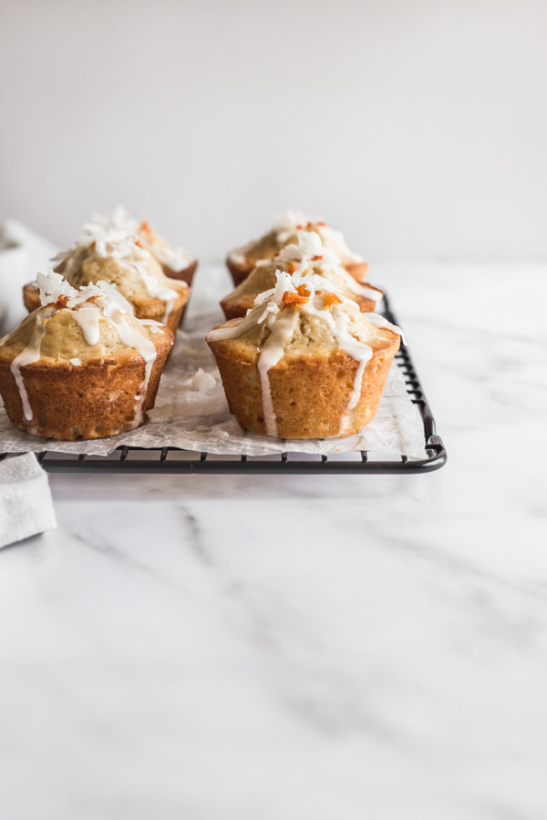 Blood orange muffins, coconut muffins, muffins, breakfast, citrus fruit, morning muffins