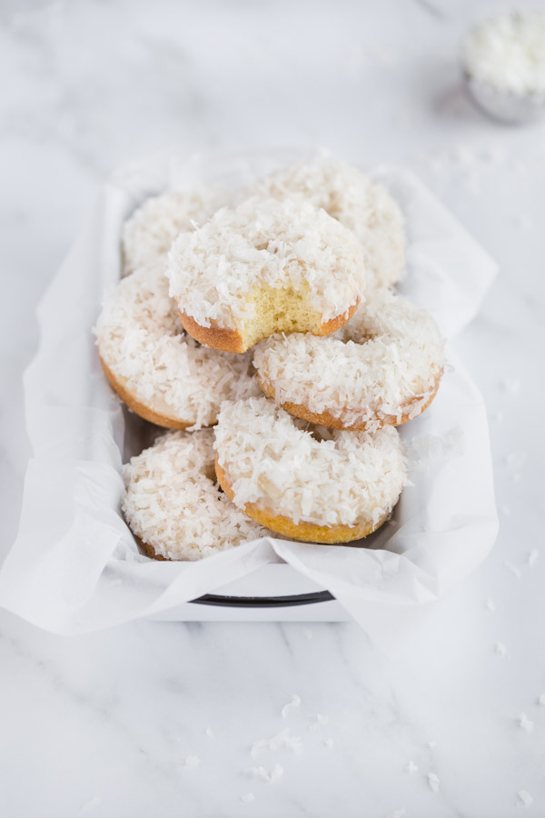 coconut donuts, coconut cake donuts, coconut cake, donuts, coconut
