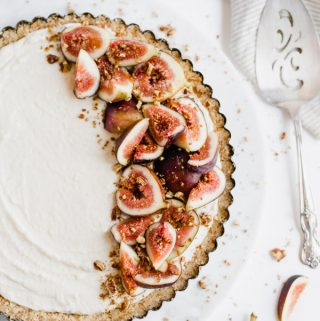 Maple Marscapone and Fig Tart