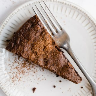 Flourless Chocolate Almond Cake