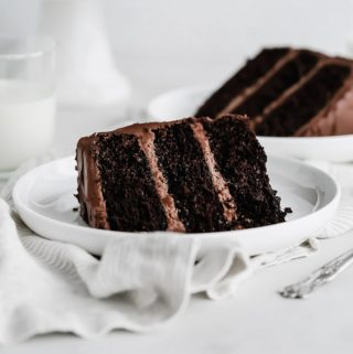 Double Dark Chocolate Layer Cake