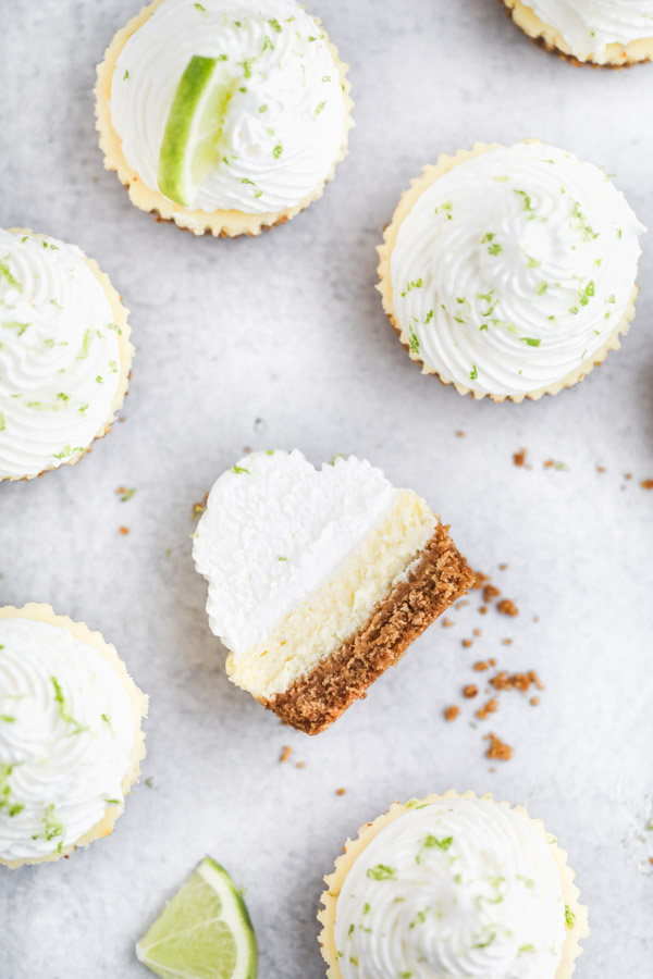 mini-key-lime-cheesecakes