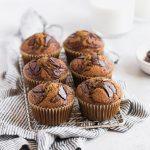 Easy Pumpkin Chocolate Swirl Muffins